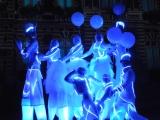 Echassiers lumineux pour une mise en lumière de façades (92)