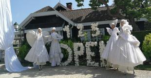 Echassiers blancs pour la finale de l'open de France de Polo (75)