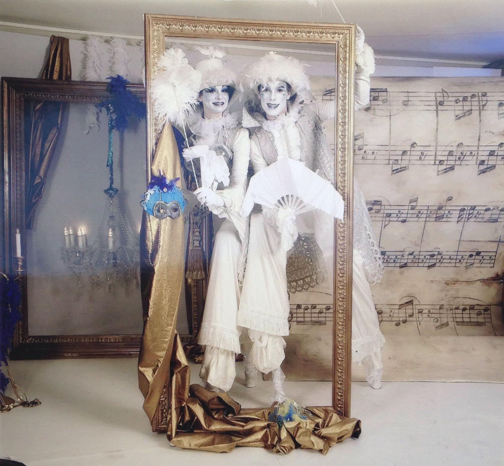 Echassiers blancs Carnaval de Venise