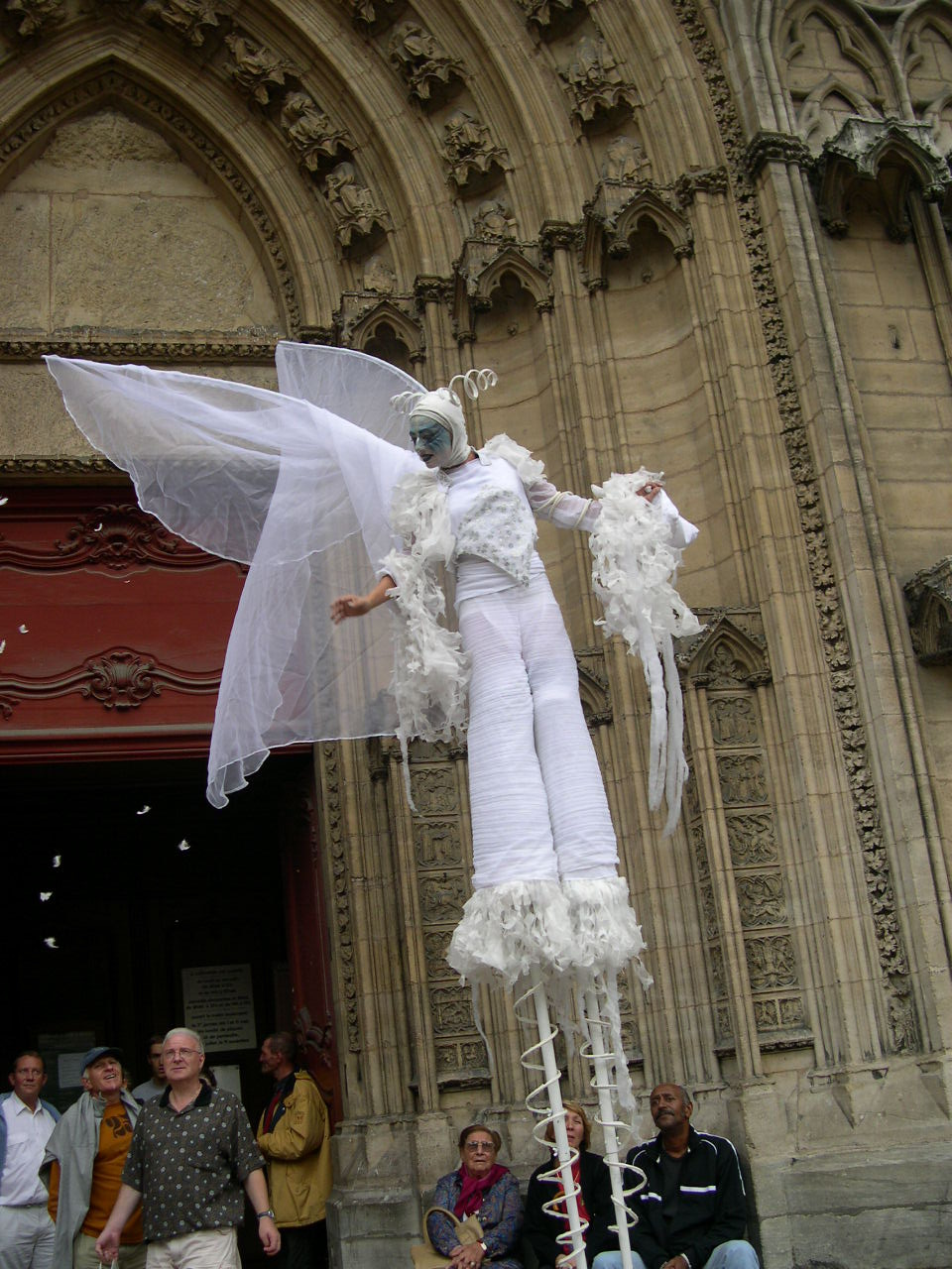 Echassiers pour mariage