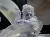 Echassiers blancs lumineux pour une soirée de gala (Suisse)