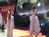 Echassières violonistes pour le Salon de l'Automobile de Genève